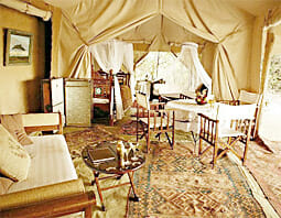Cottar's 1920's Safari Camp, Kenia