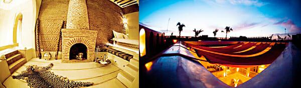 Zimmer und Terrasse des Ana Yela, Marokko