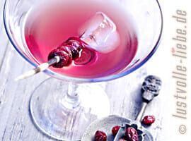Cranberry-Wermut-Cocktail