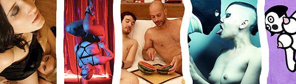 Pornfilmfestival Berlin Poster Collage