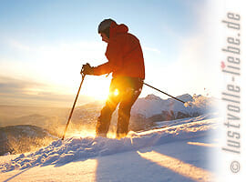 Hüttenurlaub im Winter: Selbstversorgerhütten, Berghütten