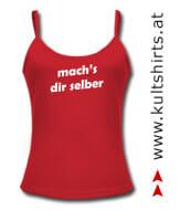 Girlie-Shirt mit Bekenntnis: Masturbatorin