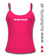 Sexy Girlie-Shirt: Schweindi - www.kultshirts.at