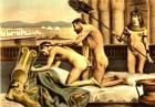 Hadrian beim homosexuellen Analverkehr mit Antinoos