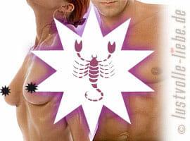 Skorpion: leidenschaftlich & intensiv