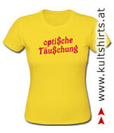 Girlie-Shirt mit Humor - kultshirts.at