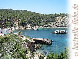Traumhafte Buchten, einsame Strände auf Ibiza