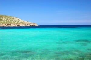 Strandidylle an der Cala Conta
