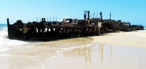 Maheno Wrack Fraser Island