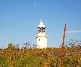 Der Leuchturm vom Cape Naturaliste