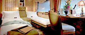 Kabine im Eastern & Oriental Express