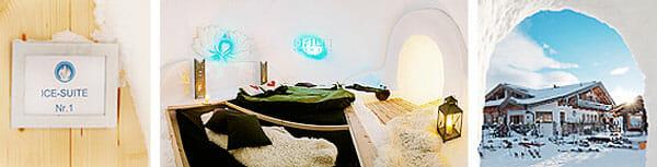 Iglu-Suiten auf der Kristallhütte in Kaltenbach, Hochzillertal
